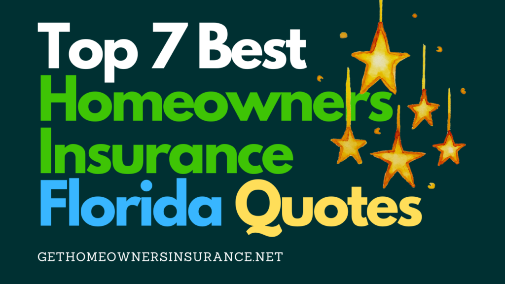 Best Homeowners Insurance Florida